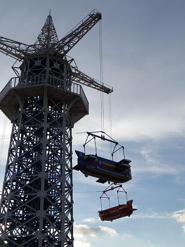 大型遊具『飛行塔』@生駒山上遊園地-13