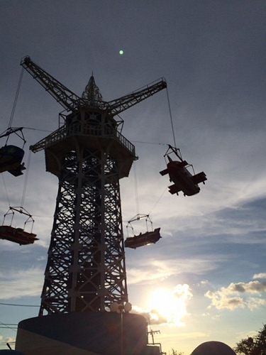 大型遊具『飛行塔』@生駒山上遊園地-14