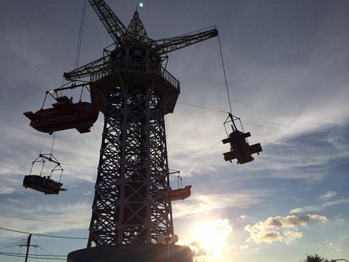 大型遊具『飛行塔』@生駒山上遊園地-15