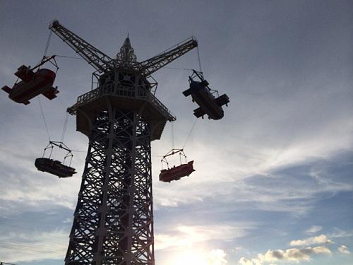 大型遊具『飛行塔』@生駒山上遊園地-16