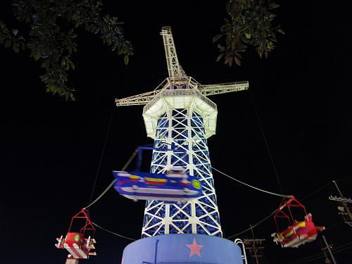 大型遊具『飛行塔』@生駒山上遊園地-18