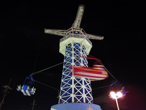 大型遊具『飛行塔』@生駒山上遊園地-19