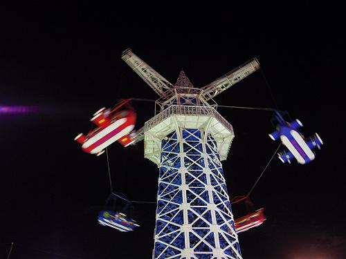 大型遊具『飛行塔』@生駒山上遊園地-20
