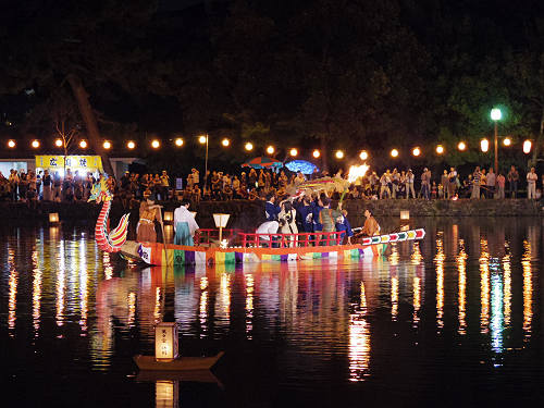 采女神社例祭『采女祭』@猿沢池-28