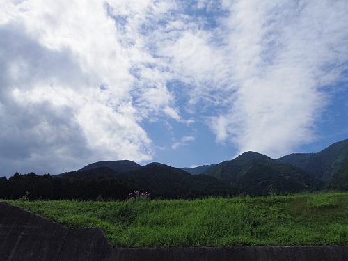 葛城山麓の夏の風景(御所市高天から)-01