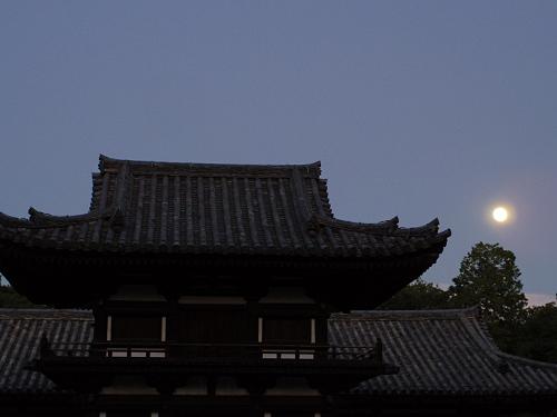 観月讃仏会2014@唐招提寺(奈良市)-06