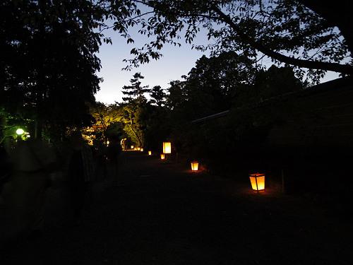 観月讃仏会2014@唐招提寺(奈良市)-07