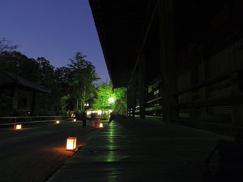 観月讃仏会2014@唐招提寺(奈良市)-08