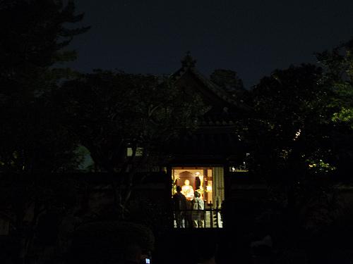 観月讃仏会2014@唐招提寺(奈良市)-11