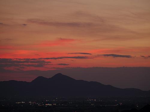 檜原神社と井寺池からの夕陽@桜井市-16