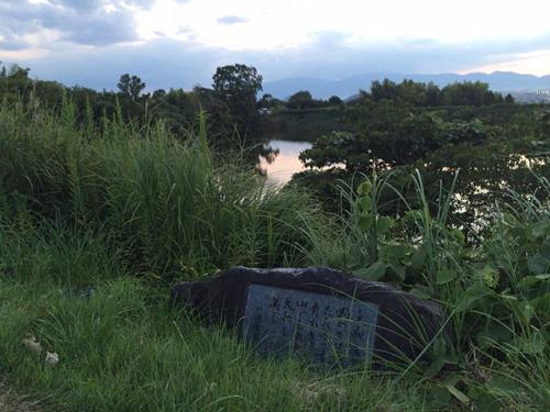 檜原神社と井寺池からの夕陽@桜井市-19