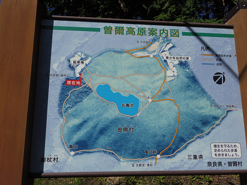 曽爾高原のススキと倶留尊山登山-01