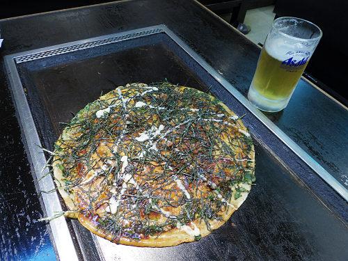 巨大ねぎ焼き「大仏焼」が名物の老舗『かめや』@奈良市