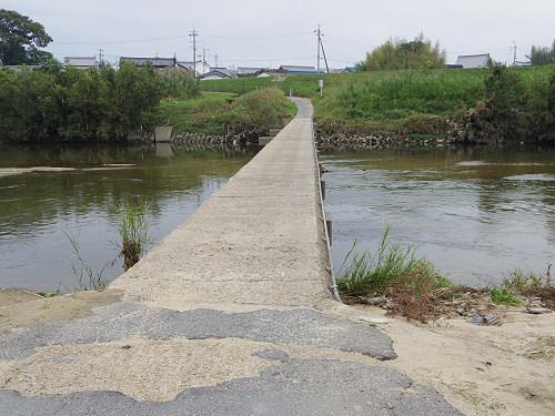 奈良の沈み橋『大城橋』@河合町・斑鳩町-04