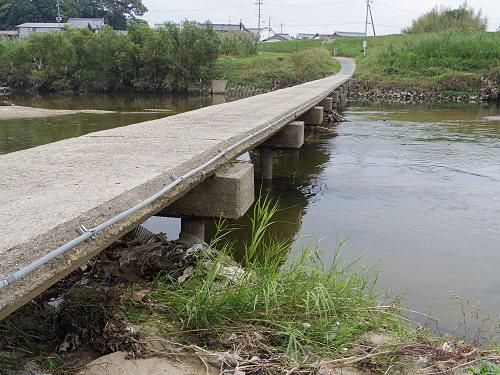 奈良の沈み橋『大城橋』@河合町・斑鳩町-05