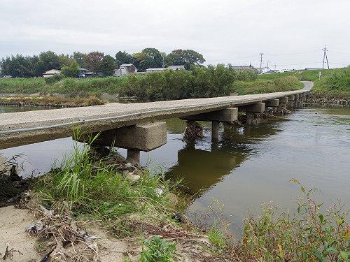 奈良の沈み橋『大城橋』@河合町・斑鳩町-06