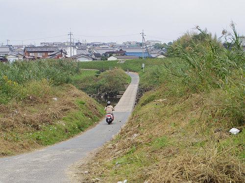 奈良の沈み橋『大城橋』@河合町・斑鳩町-07
