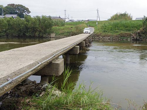 奈良の沈み橋『大城橋』@河合町・斑鳩町-08