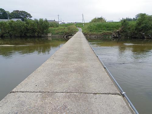 奈良の沈み橋『大城橋』@河合町・斑鳩町-10
