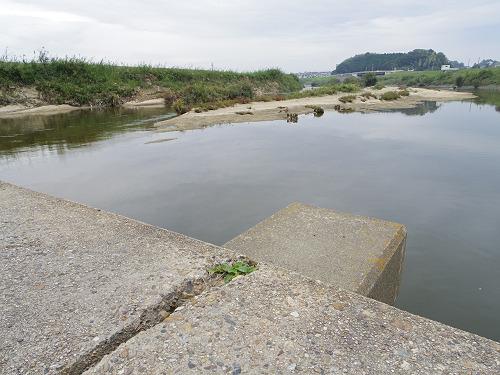 奈良の沈み橋『大城橋』@河合町・斑鳩町-11
