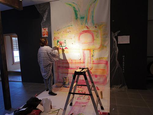 奈良・町家の芸術祭 はならぁと2014@生駒宝山寺参道-07