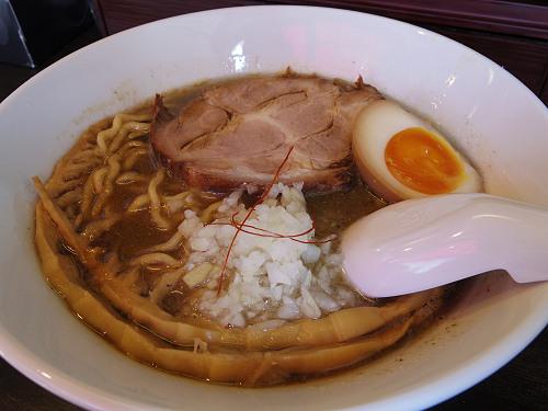 煮干+豚骨『麺とサーカス』(プレオープン中)@奈良市
