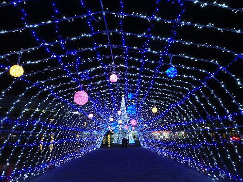 26万球のイルミネーション『天理 光の祭典2014』@天理市
