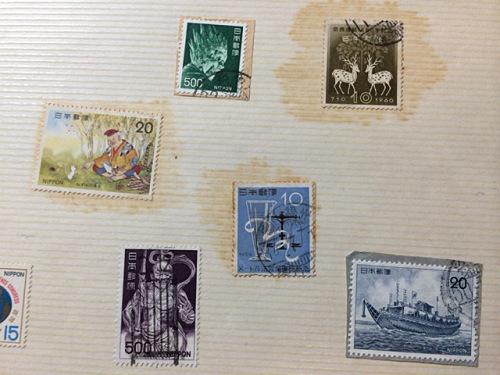 古い奈良モチーフ切手など-02
