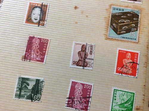 古い奈良モチーフ切手など-03