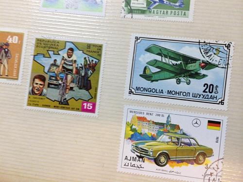 古い奈良モチーフ切手など-04