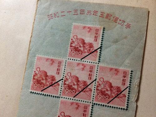 古い奈良モチーフ切手など-06