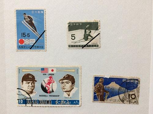 古い奈良モチーフ切手など-11