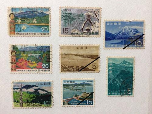 古い奈良モチーフ切手など-12