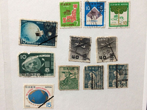 古い奈良モチーフ切手など-13