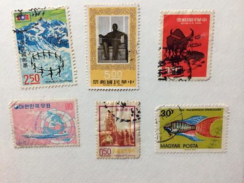 古い奈良モチーフ切手など-14