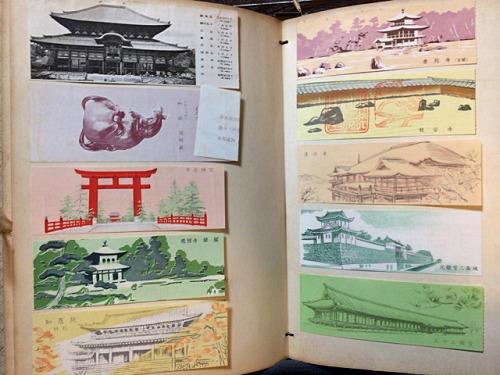 古い奈良モチーフ切手など-15