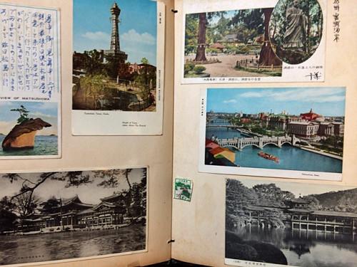 古い奈良モチーフ切手など-16