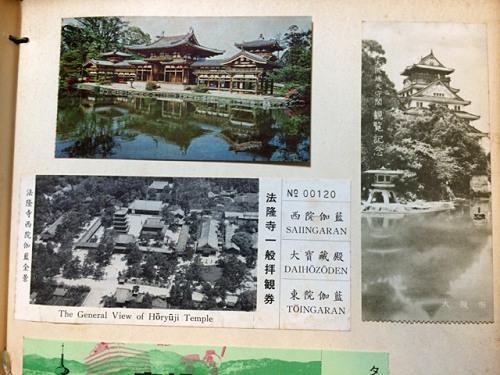 古い奈良モチーフ切手など-17