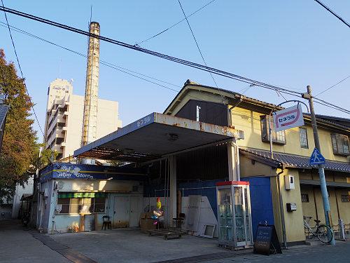 金魚が泳ぐ電話ボックスのカフェ『K coffee』@大和郡山市