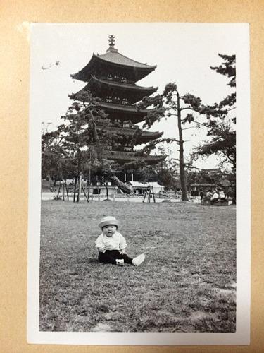 1970年頃の奈良での記念写真たち-08