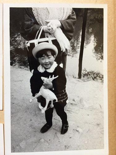 1970年頃の奈良での記念写真たち-12