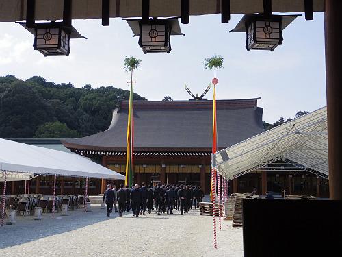 2月11日「建国記念の日」に催される『紀元祭』@橿原神宮