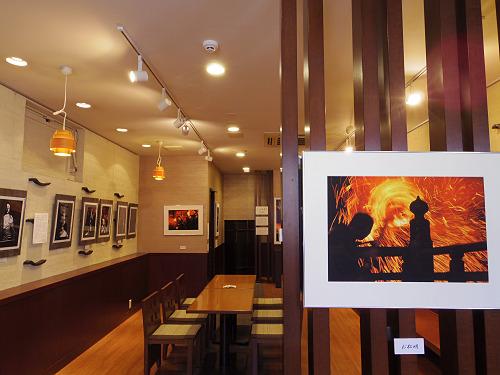 写真と切り絵『奈良歳時記 お水取りと仏像 二人展』@奈良市
