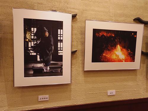 奈良歳時記 お水取りと仏像 二人展@奈良市-05