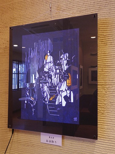 奈良歳時記 お水取りと仏像 二人展@奈良市-07