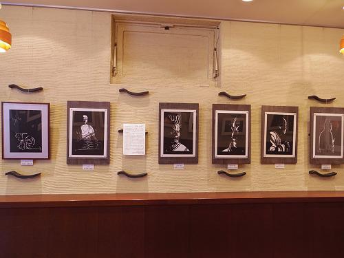 奈良歳時記 お水取りと仏像 二人展@奈良市-08