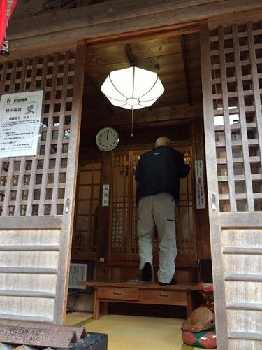 円空仏4体『栃尾観音堂』@天川村-02
