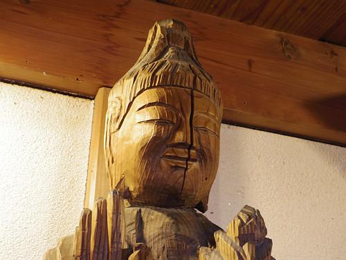4体の円空仏が祀られた小さなお堂『栃尾観音堂』@天川村
