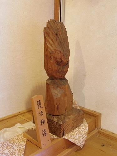 円空仏4体『栃尾観音堂』@天川村-16