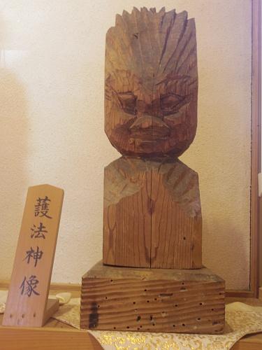 円空仏4体『栃尾観音堂』@天川村-17